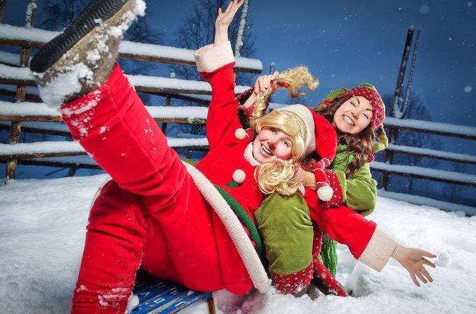Nơi ông già Noel đang chuẩn bị Giáng sinh