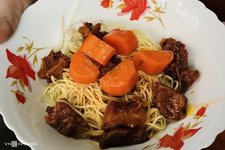 Món bò kho kiểu Ấn Độ