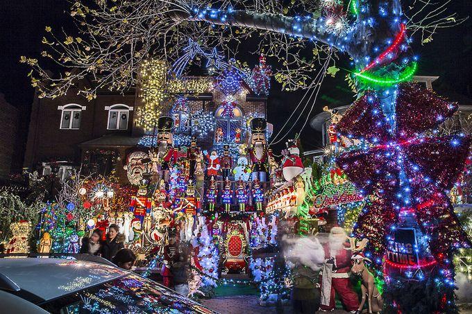 9 nơi trang hoàng Giáng sinh rực rỡ