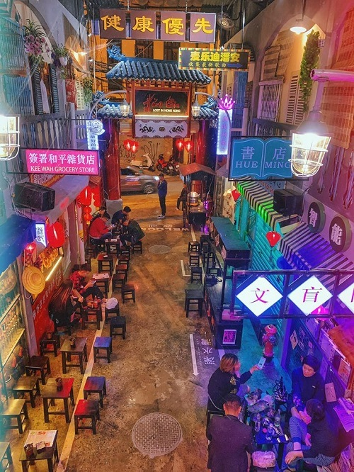 Hẻm Hong Kong ở Hà Nội