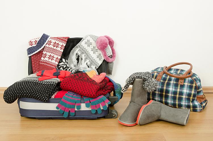 Đi du lịch mùa Đông, du khách cần chuẩn bị kỹ trang phục để giữ ấm cơ thể.