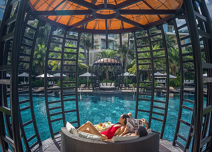 Khung cảnh thanh bình của khu nghỉ dưỡng cho bạn những cảm giác thật an yên.  - 3-ok-1577698332-3186-1577782767 - Đón xuân cùng gia đình tại InterContinental Phu Quoc Long Beach Resort