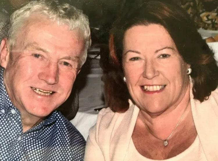 Hai vợ chồng Richard và Ann sống tại Lincolnshire, Anh. Ảnh: Sun.