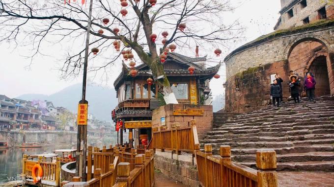 Cổ trấn 1.300 năm tuổi ở Trung Quốc