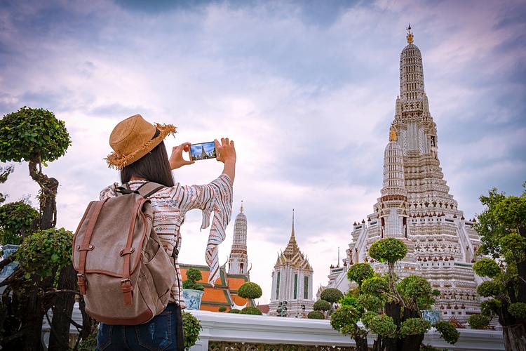 Thái Lan luôn là điểm đến thu hút khách hành hương.