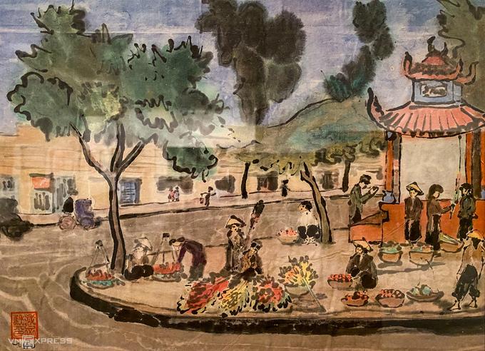 Triển lãm tranh về mùa xuân