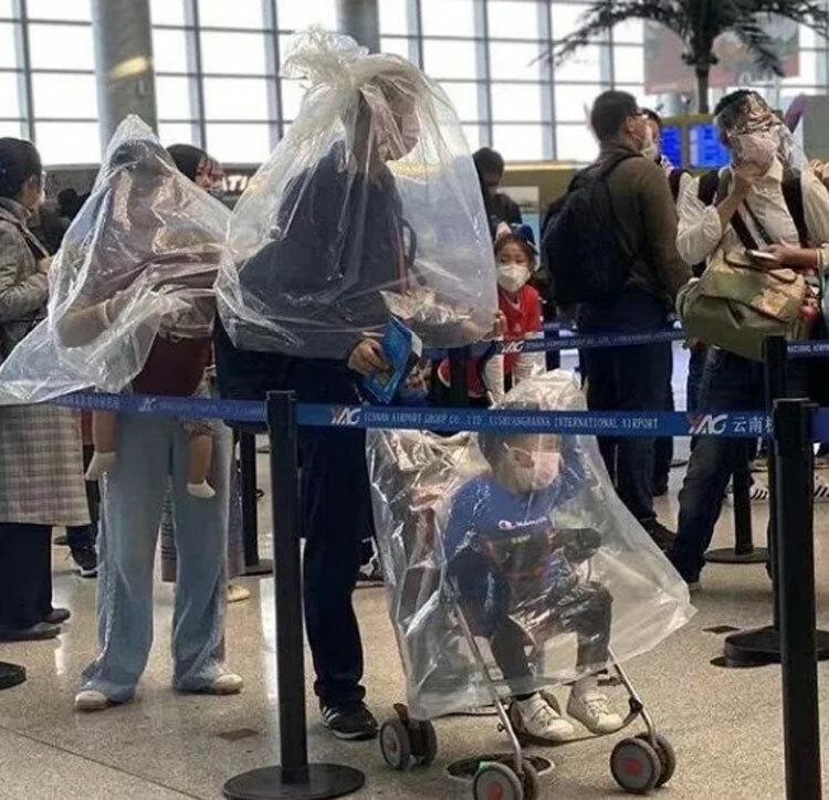 Các kiểu tránh virus nCoV của hành khách