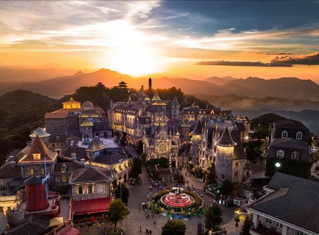 Sun World Ba Na Hills - điểm đến cho các đôi dịp Valentine - ảnh 7