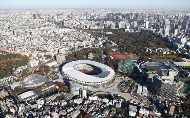 Sân vận động làm từ 2.000 m3 gỗ - ảnh 1