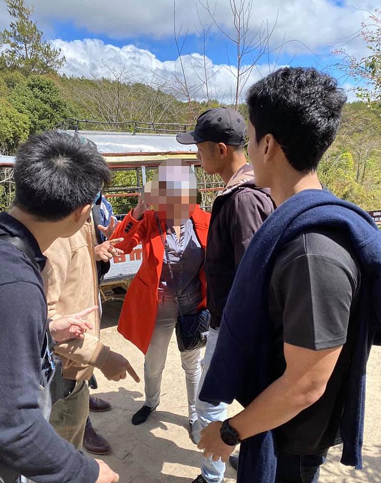 Du khách Thái Lan bị đánh