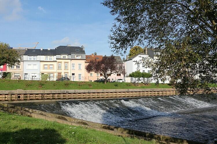 Ettelbrüc ở Luxembourg được xây dựng trên giao lộ của ba con sông. Ảnh: Alamy.