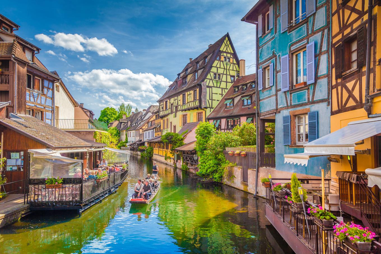 Thị trấn cổ tích nước Pháp