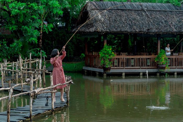 Trải nghiệm không gian làng quê giữa Sài Gòn - ảnh 2