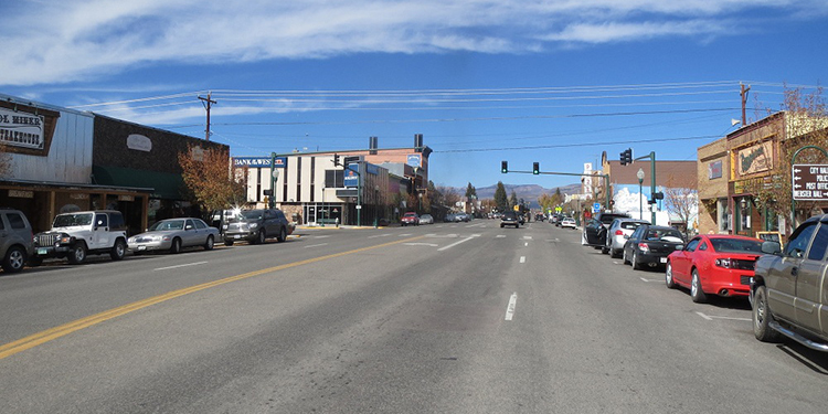 Trung tâm thị trấn Gunnison. Ảnh: Uncover Colorado.