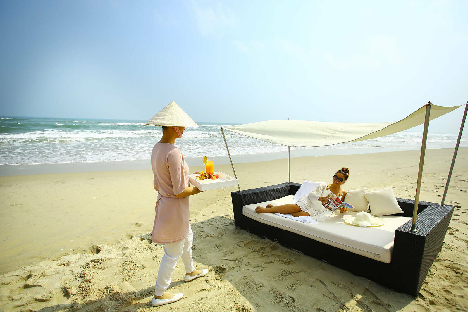 7 Daybed breakfast 6 8730 1585197606 - 6 resort của Việt Nam lên báo Anh