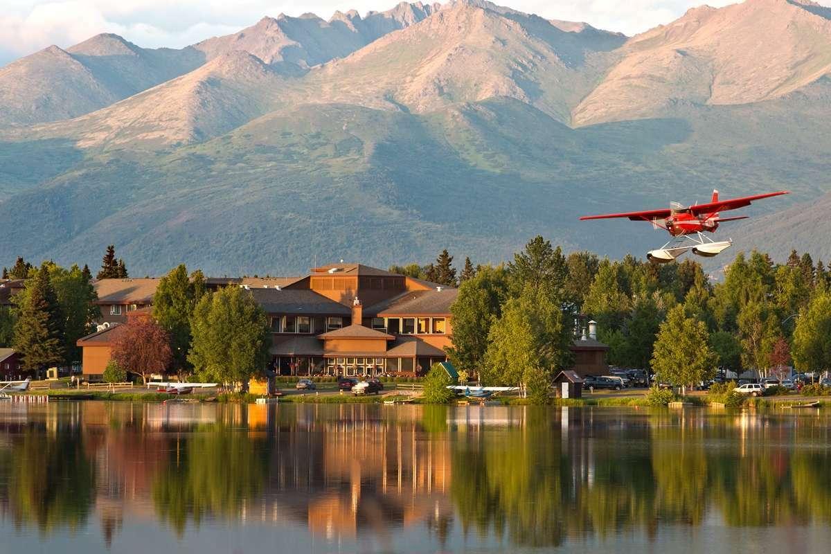 Có nhiều khách sạn, nhà nghỉ ở Anchorage với giá từ 100 USD một đêm. Ảnh:Visit Anchorage.