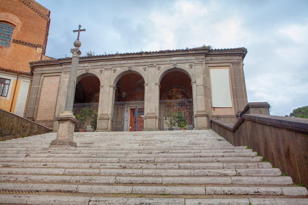 Cầu thang tử thần - nơi lưu giữ quá khứ u tối của thành Rome. Ảnh:RussieseO/Shutterstock.