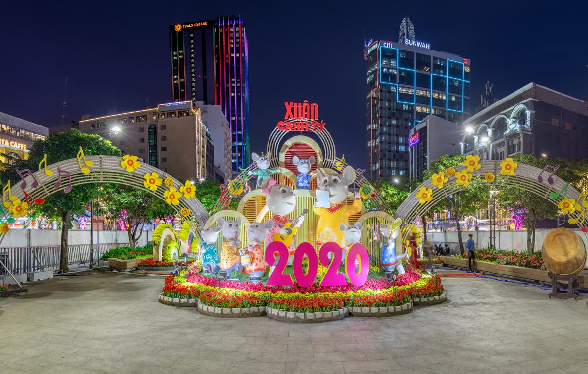 Cuộc thi ý tưởng thiết kế đường hoa Nguyễn Huệ Tết 2021 - ảnh 2