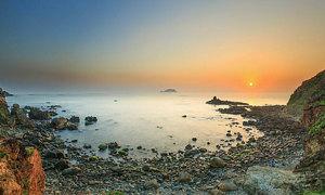 Đón bình minh trên biển Quy Nhơn