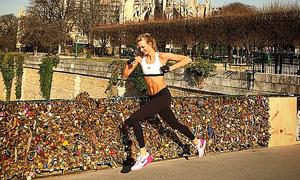 Karlie Kloss - siêu mẫu mê chạy bộ